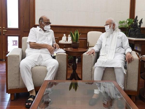 NCP president Sharad Pawar met Prime Minister Narendra Modi