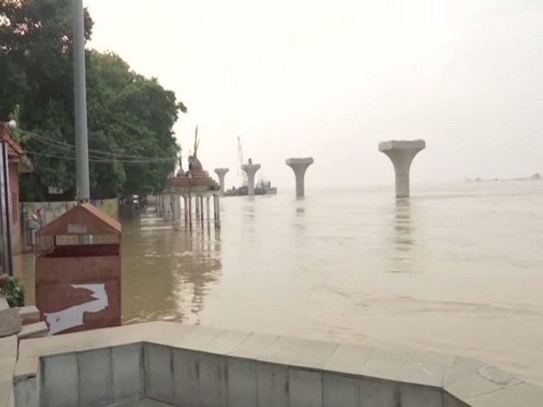 Water level of Ganga River rises above normal in Patna, Bihar