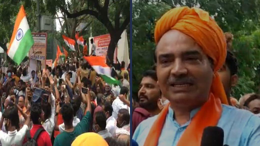Ashwani Upadhyay detained for alleged sloganeering near Jantar Mantar (File Photo)