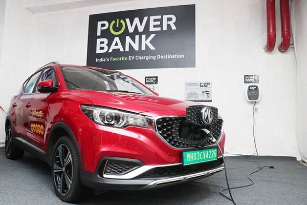 Power Bank's EV Charging Hub