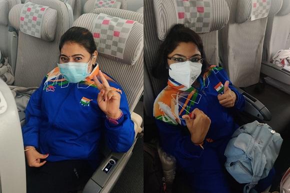 Para Athletes Bhavina Patel and Sonal Patel (Pic Source: SAIMedia twitter)