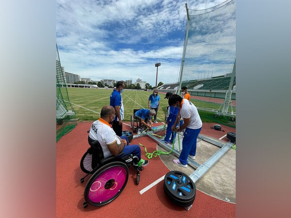 India discus thrower Vinod (PIC Source: Paralympic Committee of India)