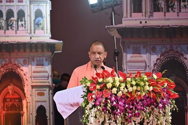 Uttar Pradesh Chief Minister Yogi Adityanath (Pic Source: CMOfficeUP Twitter)