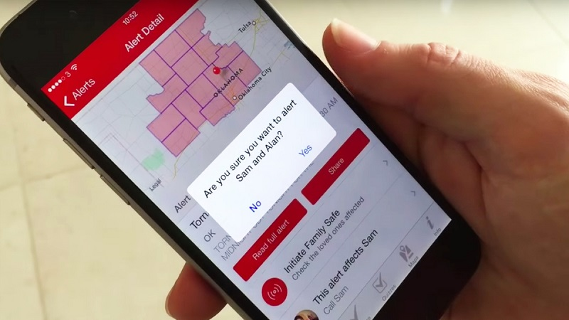 App that can predict natural disasters (File Photo)