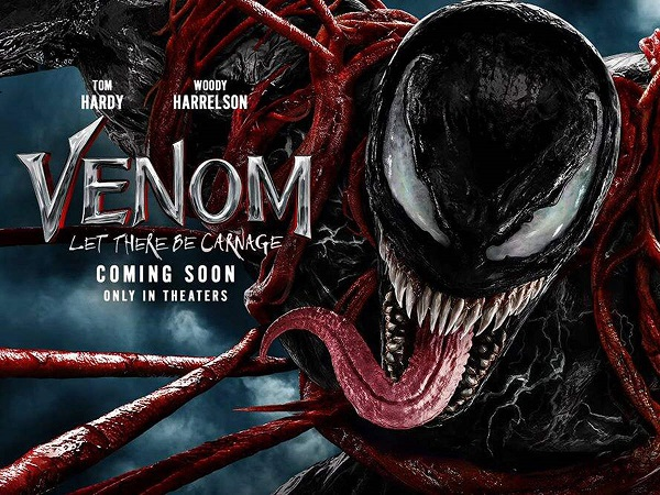 Poster of Tom Hardy's 'Venom: Let There Be Carnage'