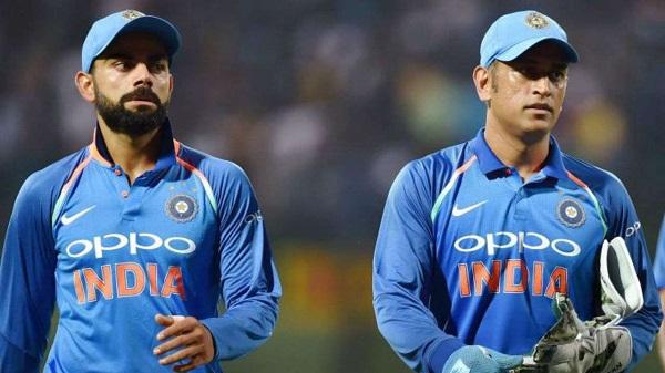 Kohli and Dhoni (File Photo)