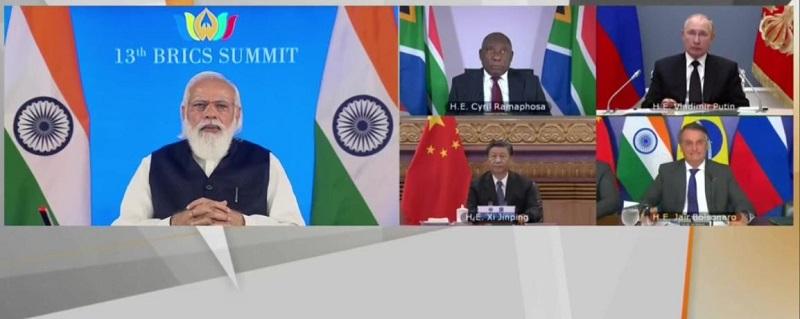 PM Modi chairs 13th BRICS leaders meet