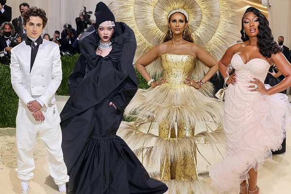 The most unique looks from Met Gala 2021