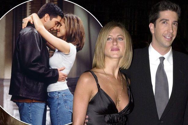 Jennifer Aniston and David Schwimmer  (File Photo)
