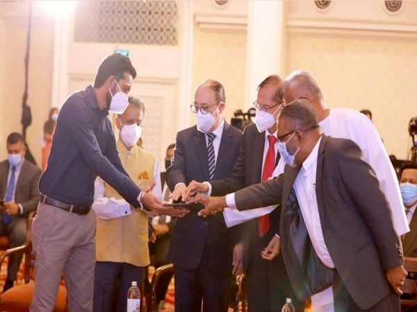 Foreign Secretary Harsh Vardhan Shringla, Sri Lankan FM Peiris jointly inaugurate 4 projects
