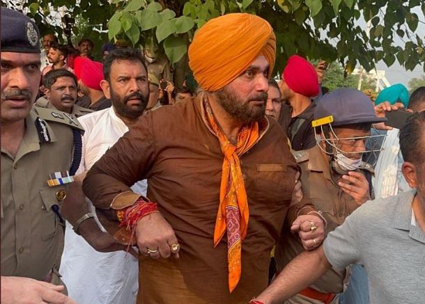Punjab Congress chief Navjot Singh Sidhu