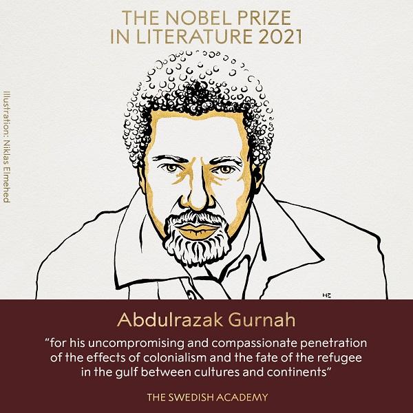 Tanzania's Abdulrazak Gurnah wins 2021 Nobel Prize in literature (File Photo)