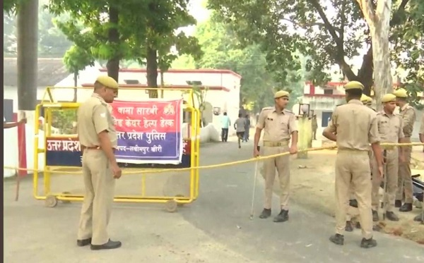 UP police tightens security outside MoS Teni's house