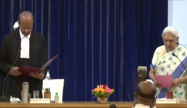 Justice Rajesh Bindal takes oath as Chief Justice of Allahabad High Court