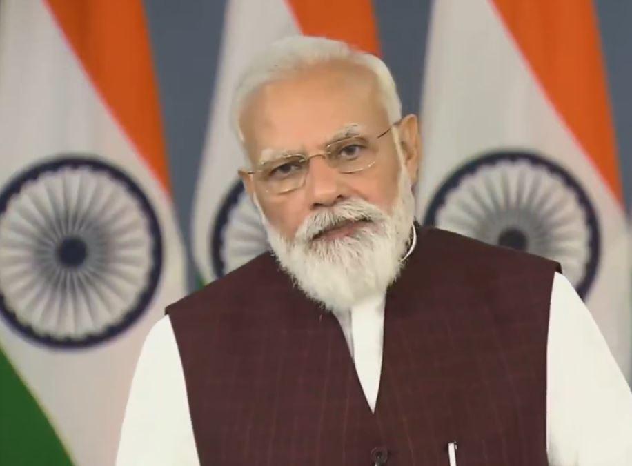 PM Modi addressing the 28th NHRC Foundation Day programme