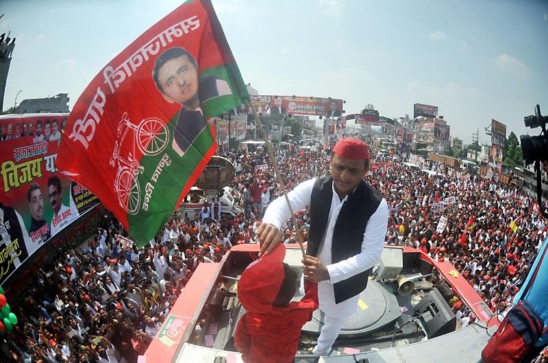 Akhilesh Yadav kickstarted the election campaign with a 'Vijay Rath' Yatra