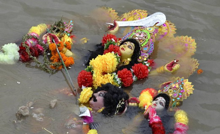 Idol immersion at public places can attract a fine of Rs 50,000 (File Photo)